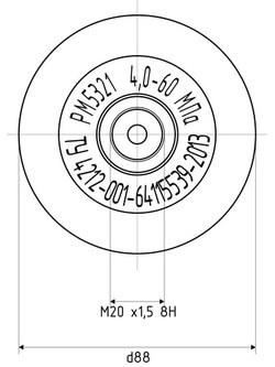 Разделитель мембранный РМ-5321 (ФизТех)